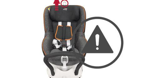 Vorsicht: Dieser Kindersitz von Römer kann brechen