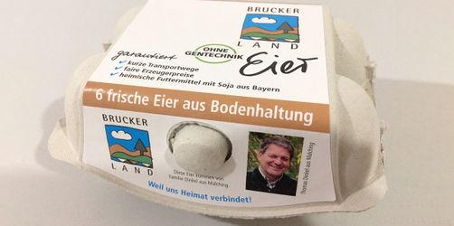 Krankheitserreger festgestellt: Eier-Rückruf in Fürstenfeldbruck und Starnberg!