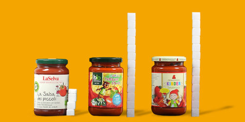 9 Tomatensoßen für Kinder im Foodwatch-Test: Das sind größten Zuckerbomben