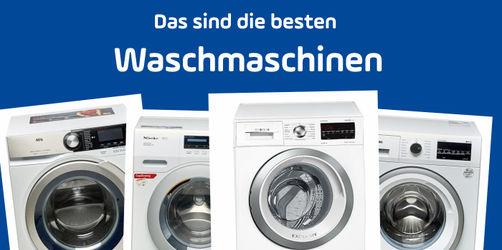 Waschmaschinen im Test: Das sind die aktuellen Testsieger