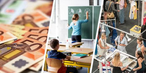 Das ändert sich im September: Kinderbonus, Messen, Schulbetrieb & Co.