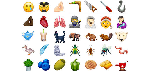 Neue Emojis stehen fest: Diese Motive kommen 2020 auf eure Smartphones