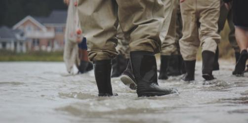 Zerstörung durch Hochwasser: So hoch ist die Gefahr bei euch