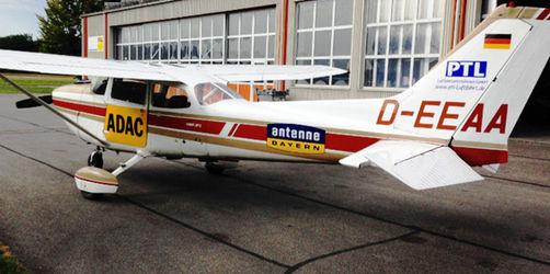 ANTENNE BAYERN Verkehrsflieger: Wir informieren aus der Luft