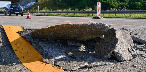 Tempolimits auf Autobahnen wegen drohender Blow-ups: Diese Strecken sind betroffen