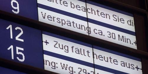 Zug-Verspätung: Kunden könnten bald vollen Ticketpreis zurückbekommen