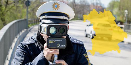 Blitzmarathon 2019 in Bayern: An diesen Stellen wirst du geblitzt