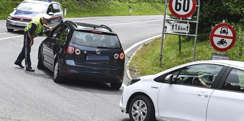 Ab 1. August regionale Fahrverbote in Tirol: Das müssen Urlauber wissen