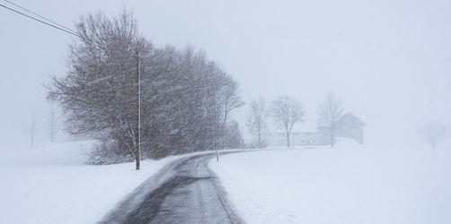 Erst Orkan, dann Schnee: Hier müsst ihr euch drauf einstellen
