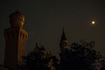 Seltenes Himmelsspektakel: Fotos vom Blutmond über Bayern