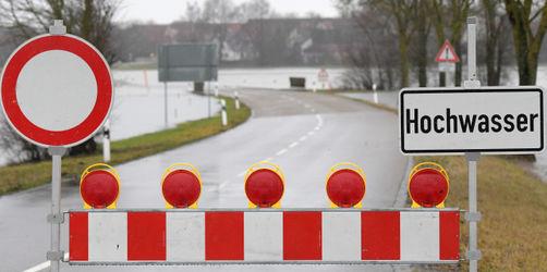 Schneechaos: Hier drohen jetzt Überschwemmungen in Bayern