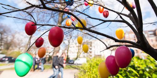 Ostereiersuche draußen: So schön warm wird das Osterwetter bei euch