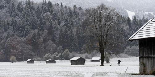 Bayern wird weiß! Hier kommt der erste Schnee ins Flachland