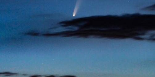 Himmelsspektakel: Diesen Kometen könnt ihr gerade über Bayern sehen