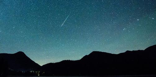 Höhepunkt der Lyriden: Diese Nacht alle drei Minuten eine Sternschnuppe