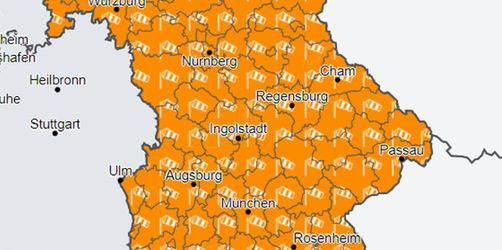 Stürmische Nacht in Bayern! Hier Wetter-Warnungen für euren Ort checken