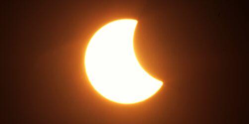 Partielle Sonnenfinsternis am 10. Juni: Um 11:30 geht´s los!