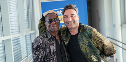 Mousse T. ft. Andrew Roachford im Interview ohne Worte