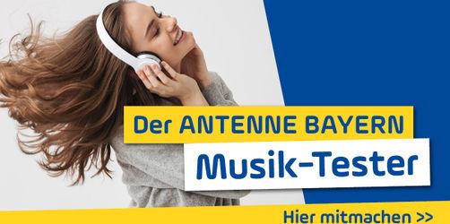 """Teilnahmebedingungen: """"Werdet ANTENNE BAYERN Musik-Tester!"""""""