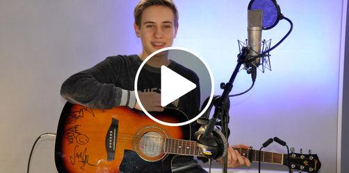 Luca aus Plattling: Vom Cover der Woche direkt zu The Voice Kids
