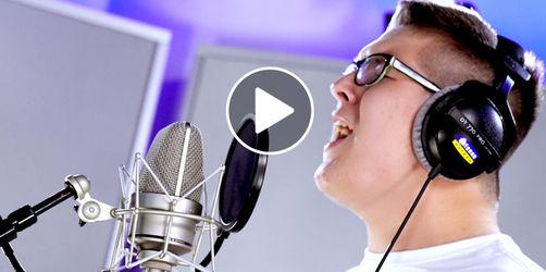 """Ed Sheeran """"I see fire"""" - Cover von Elias Haupt aus Bischberg"""