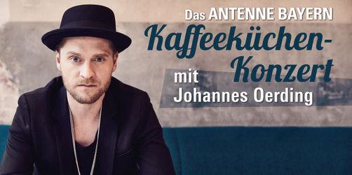 Kaffeeküchen-Konzert: Johannes Oerding live bei ANTENNE BAYERN