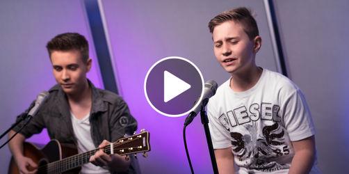 Neues Video: Unser Luca singt mit Bruder Kevin Kuglmeier