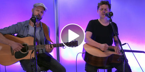Michael Patrick Kelly unplugged bei ANTENNE BAYERN!