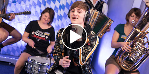 Mega: Tom Gregory unplugged mit der ANTENNE BAYERN Band
