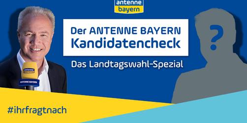 Alle Videos im Überblick: Der ANTENNE BAYERN Kandidatencheck – Das Landtagswahl-Spezial!