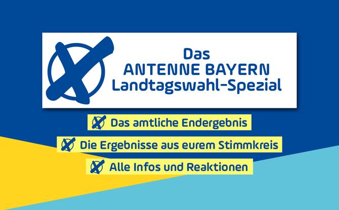 Landtagswahl Bayern 2018: Amtliches Endergebnis, Koalitionsrechner & Stimmkreisergebnisse