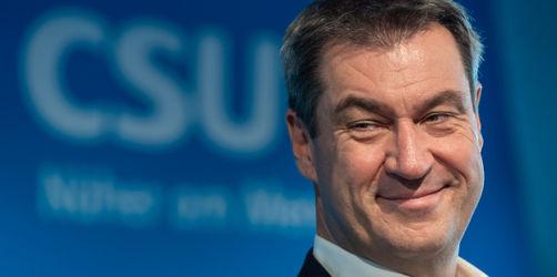 91,3 Prozent - Markus Söder als CSU-Chef bestätigt