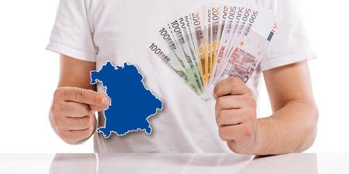 Neue Studie: Diese Regionen in Bayern verdienen am meisten und wenigsten