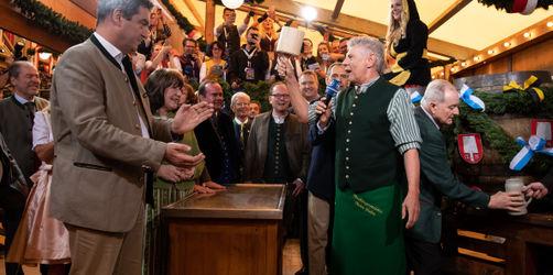 O'zapft is: Das 186. Oktoberfest ist eröffnet
