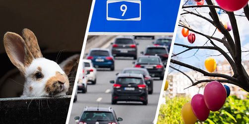 Behinderungen am Osterwochenende: Hier Verkehr, Züge und Flüge checken