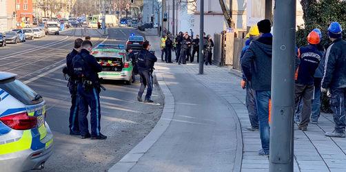 Großeinsatz Polizei in München: Schüsse gefallen, zwei Tote