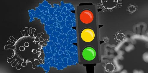 Corona-Ampel: In diesen Landkreisen und Städten gelten Beschränkungen gelb und rot