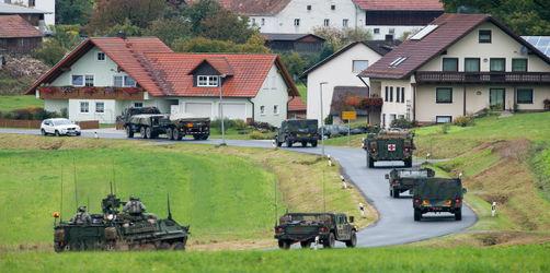 Hoffnung für Standorte Grafenwöhr und Vilseck: US-Kongress will Truppenabzug stoppen