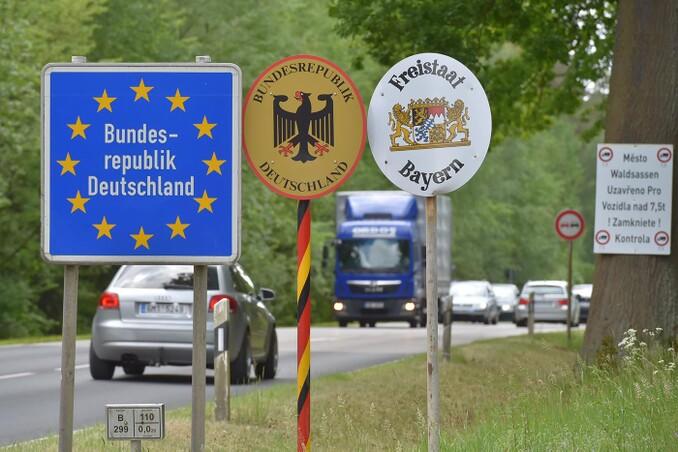 Grenze Tschechien Offen