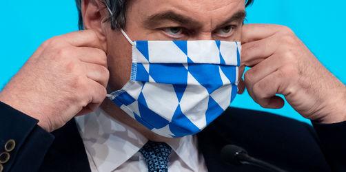 Söder: An diesen Orten fällt künftig die Maskenpflicht weg