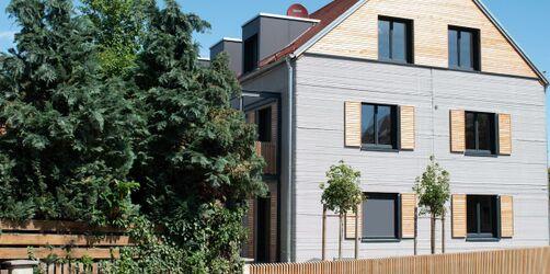 Aus dem 3-D-Drucker: Europas erstes gedrucktes Mehrfamilienhaus steht in Bayern