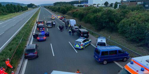 Großeinsatz auf der A9 in Bayern: Das ist bekannt