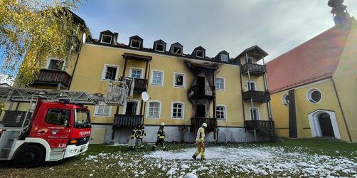 Vier Tote bei Brand eines Mehrfamilienhauses in Niederbayern