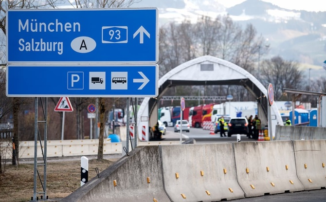 Bayern-Österreich: Grenzverkehr ab Vatertag wieder möglich