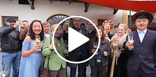 Chinesisches Video über Augsburg wird zum Internet-Hit