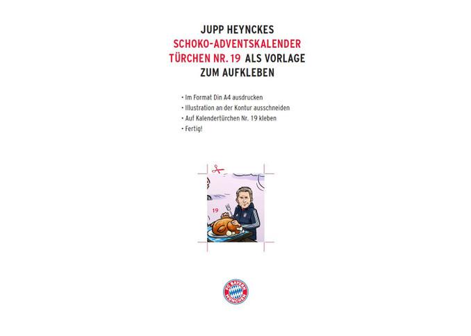 Fc Bayern Weihnachtskalender.Kurios Heynckes Als Aufkleber Jetzt Auch Für Den Adventskalender