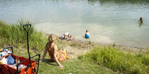 Franken: Seerundgang am Ellertshäuser See