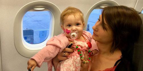 Große Hoffnung: Aria aus Mittelfranken unterwegs zu Herztransplantation