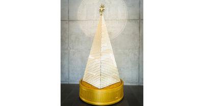 Wert von 2,3 Millionen: Teuerster Christbaum Europas in München