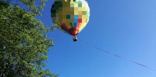 Notlandung: Heißluftballon landet fast im Starnberger See